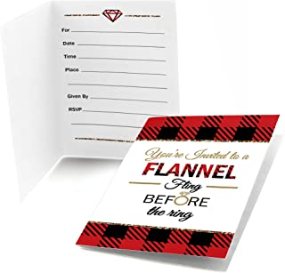 Best flannel party invitations Reviews