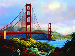 Morning at The Golden Gate 300 Piece Jigsaw Puzzle by SunsOut