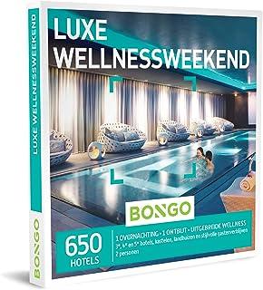Bongo Bon - Luxe Wellnessweekend   Cadeaubonnen Cadeaukaart cadeau voor man of vrouw   650 hotels met uitgebreide wellness...