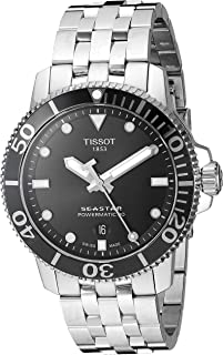 Tissot Men's Seastar 1000 Powermatic 80 - T1204071105100 Grey One Size