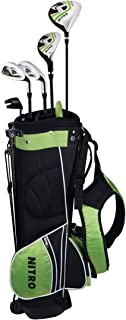 Nitro Golf Junior Crossfire 8 Piece Complete Set with Bag (Renewed)