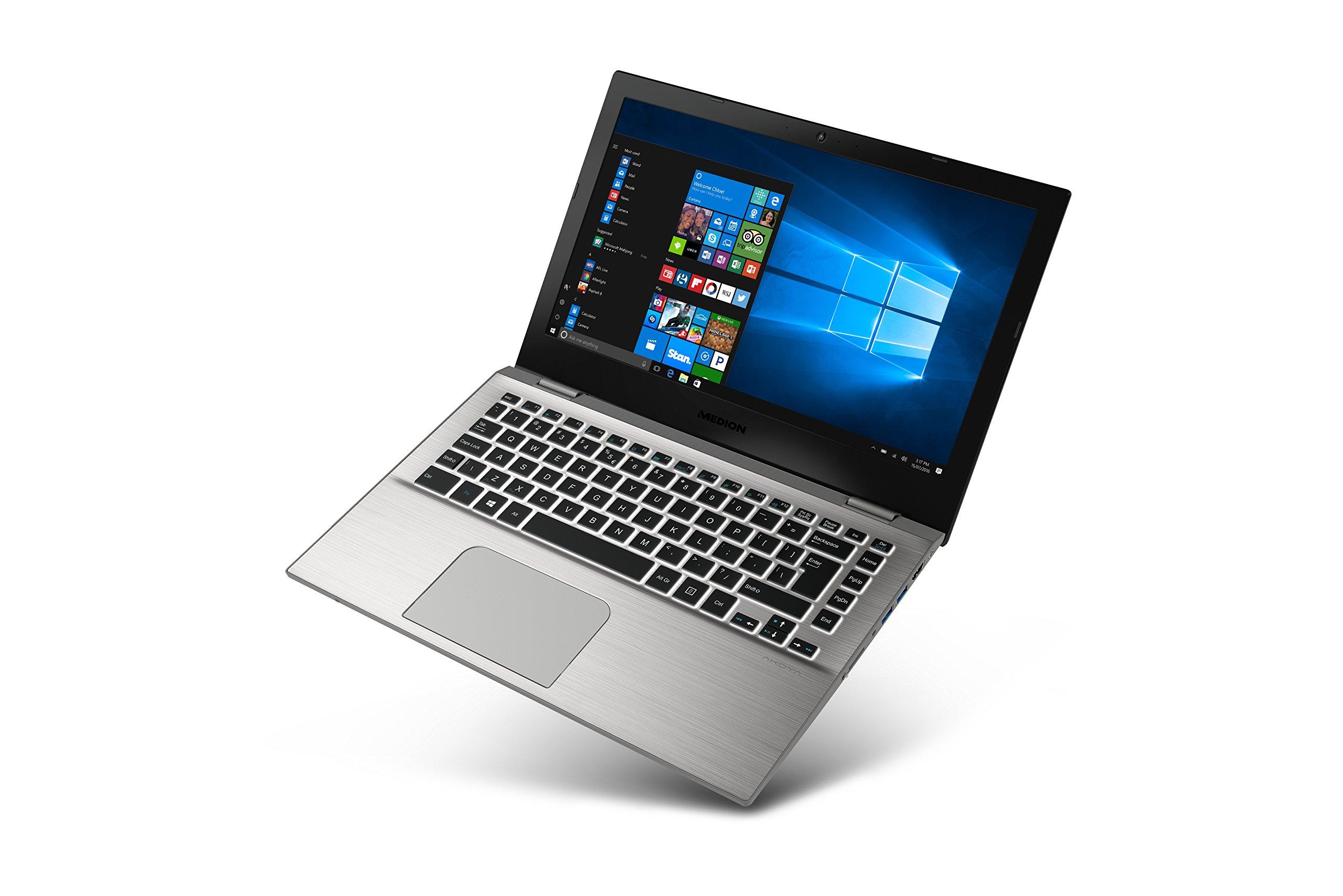 Medion AKOYA S3409 13.3インチラップトップ - バリアント30021747パワーIntel Core i3、4GB RAM、256GB SSD