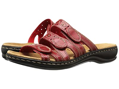 Clarks Leisa Cacti Q (Red Leather) Women