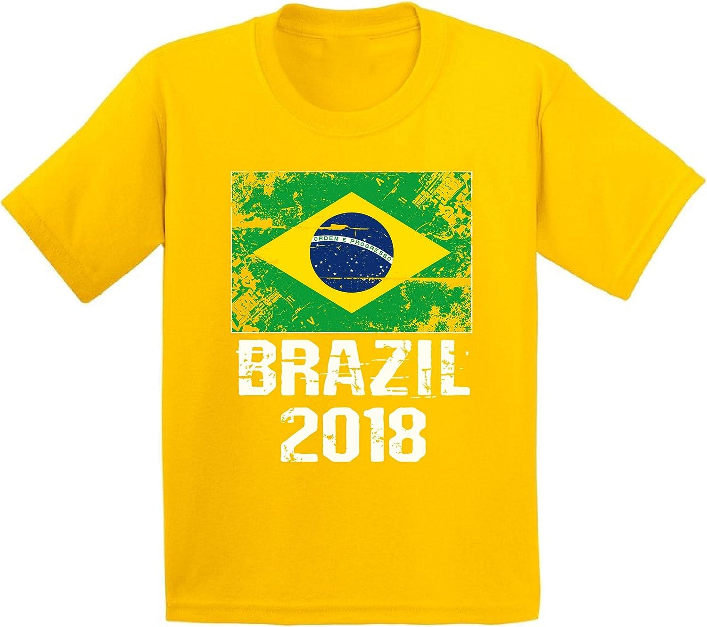 Awkward Styles Brazil 2018 Shirt Youth Brazil Flag T Shirt Brazil Soccer Fans