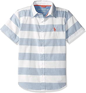 Boys' Short Sleeve Woven Shirt