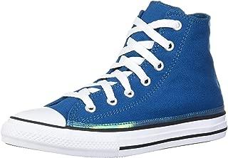 Converse Kids' Chuck Taylor All Star Sparkle Trim High Top Sneaker