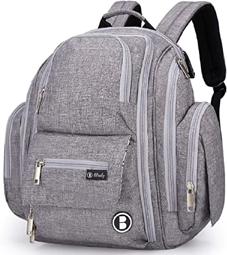 high quality Blissly Baby Diaper Bag Backpack: Best Large 2021 high quality Bags for Boy, Girl, Twin, Mom & Dad outlet online sale