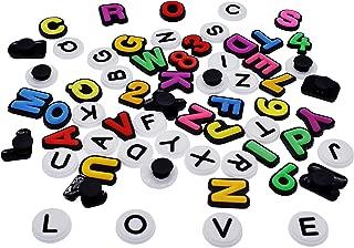 croc charms letters