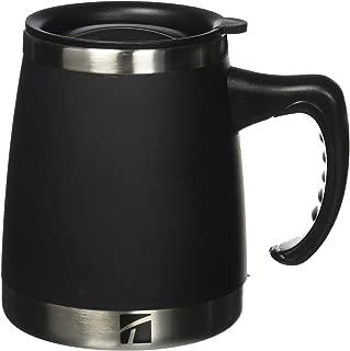 Trudeau Maison Umbria Desk Mug, 15 oz, Black