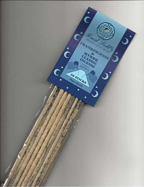 FRED SOLL S Resin ON A Stick Frankincense Myrrh Classic Incense 20