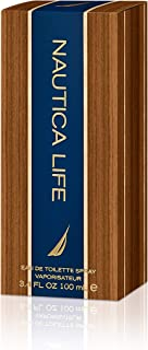 NAUTICA Life Eau de Toilette for Men Spray, 100ml, Multi, 3.4 Ounce (NAUL3M)