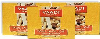 Vaadi herbals Divine Sandal Soap, 75 grams (Pack of 3)