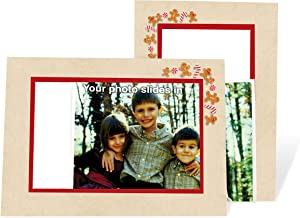 product image for Gingerbread Card - 4x6 Photo Insert Note Cards - 24 Pack by Plymouth Cards