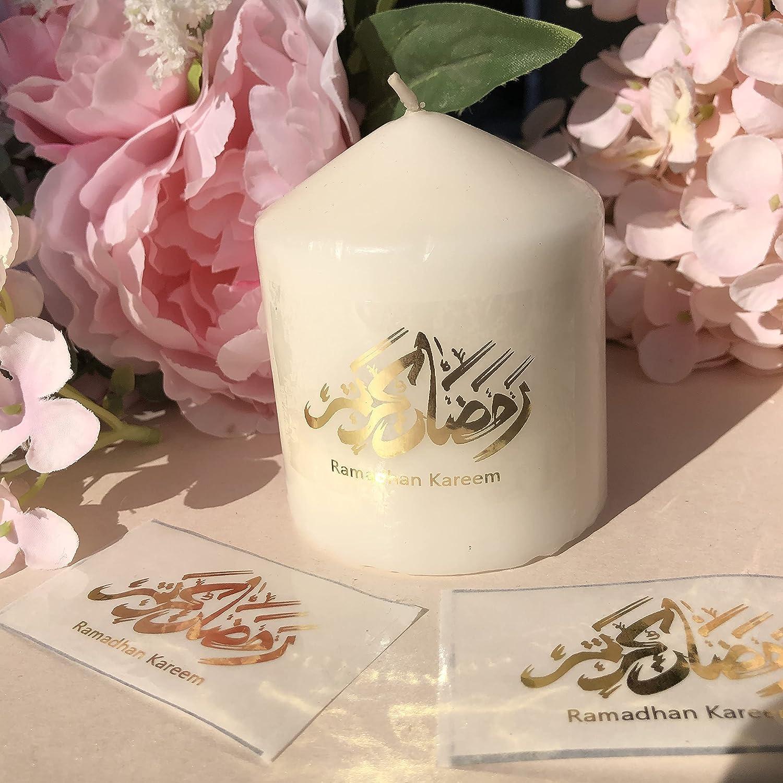 LUBINGT Candle mart 50 Arabic Genuine Ramadan Kareem ramadhan Stickers