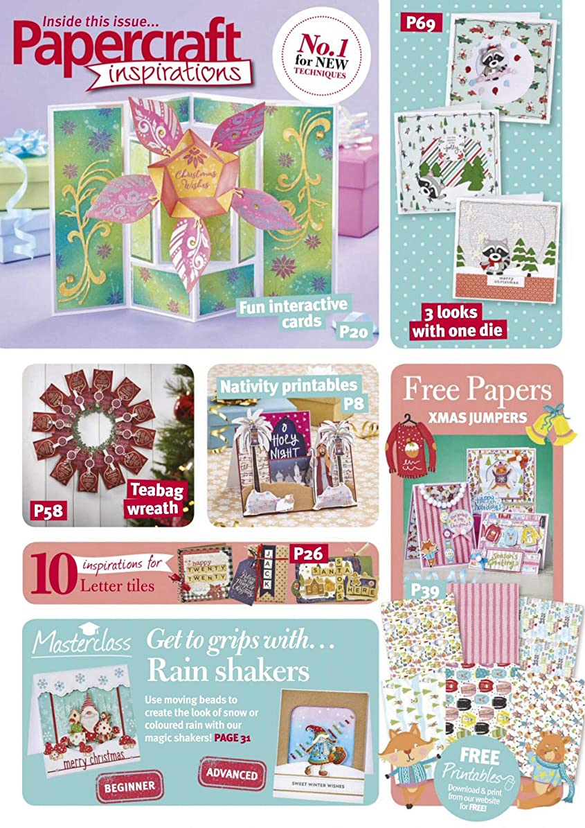 洗練日小さなPaperCraft Inspirations - Christmas 2019: Papercraft Inspirations Christmas Magazine 2019 (English Edition)