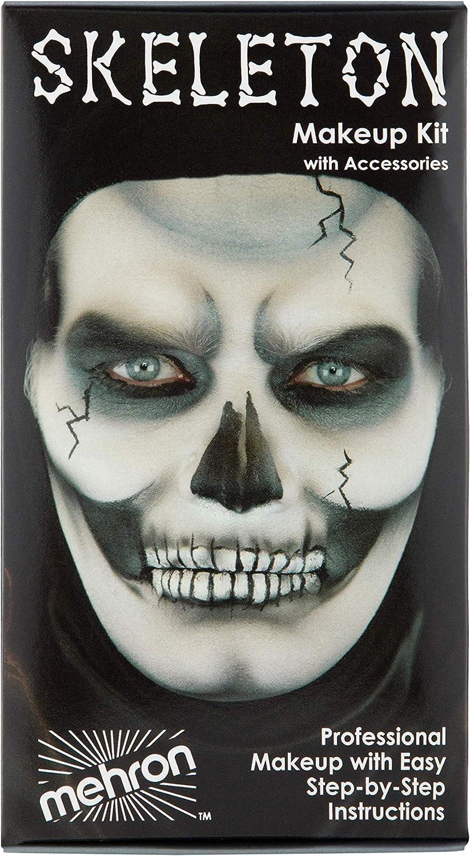 Mehron Makeup Premium Character Kit (Skeleton) : Costume Accessories : Beauty