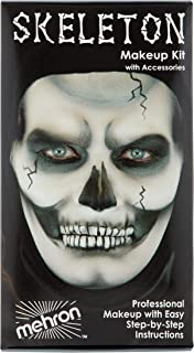 Mehron Makeup Premium Character Kit (Skeleton)