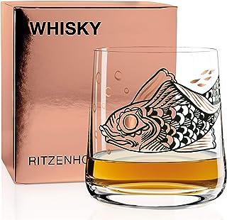 RITZENHOFF Next Whisky Whiskyglas von Olaf Hajek, aus Kristallglas, 402 ml, 3540015