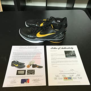 Kobe Bryant Signed 2010 Game Used Sneakers Shoes PSA DNA & Sports Investors COA