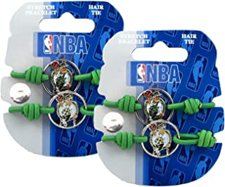 Boston Celtics - NBA Stretch Bracelets / Hair Ties (2-Pack)