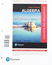 Intermediate Algebra, Books a la Carte Edition with Integrated Review plus MyLab Math with Pearson e-Text -- Access Card Package (10th Edition)