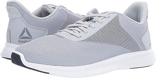 Cold Grey/Collegiate Navy/White/Silver