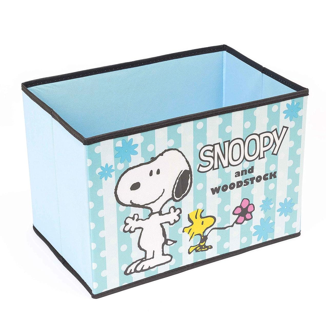 スヌーピー 収納ボックス カラーボックス 対応 サイズ フタなし 折りたたみ 収納用品 (B 1個)