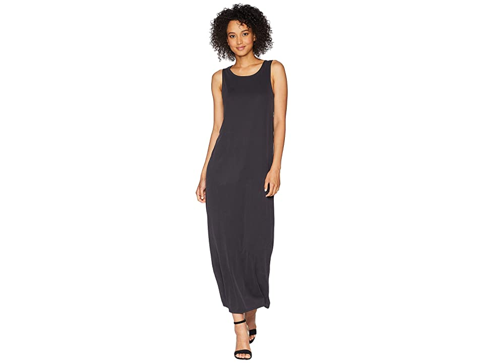 Lucky Brand Ribbed Sandwash Dress (Lucky Black) Women