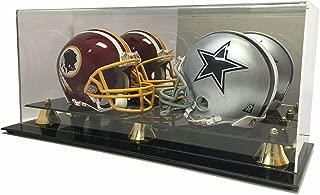 Best double mini helmet display case Reviews