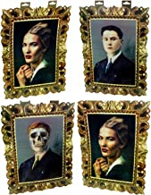Set of 2 Holographic Picture Photo Scary Skeleton And Dreaded Vampire -Lenticular by GBI