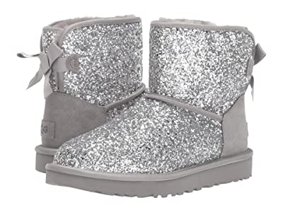 UGG Classic Mini Bow Cosmos (Silver) Women