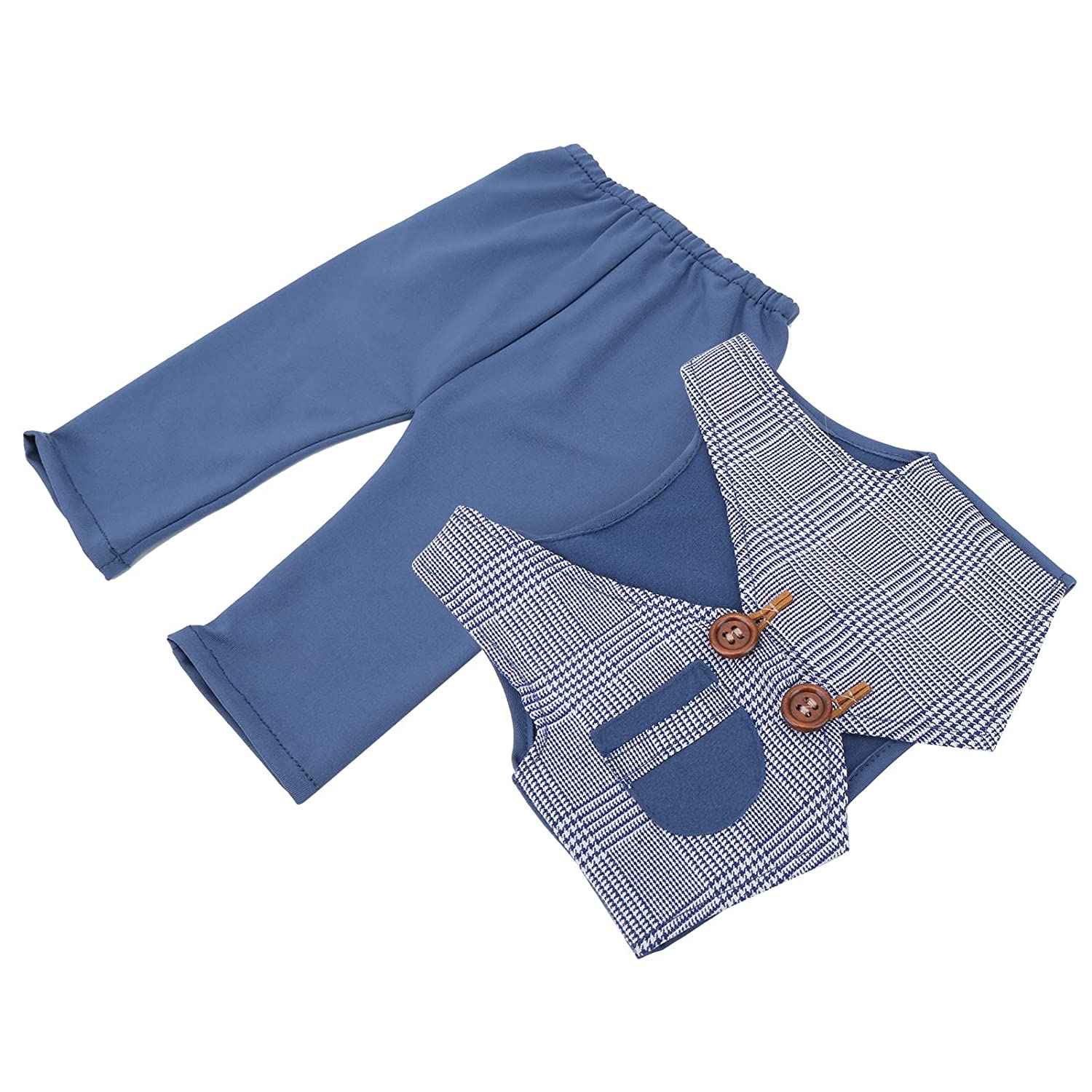 Baby Photography Super beauty product restock quality top Year-end annual account Vest Props 2Pcs Children Set