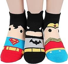 Socksense Super Heros Women's Cotton Socks