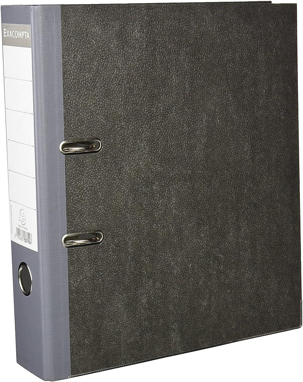 Exacompta 20 Stück Aktenordner Wolkenmarmor A4 Rückenbreite 70 mm schwarz B06X95J77K | Up-to-date-styling