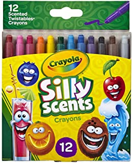 Crayola Silly Scents Twistables Crayons, Sweet Scented Crayons, 12 Count, Gift