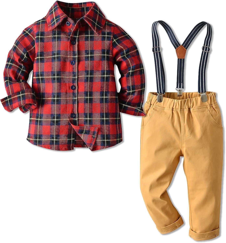 Boys sale OutfitsSuit Kids 4PCS Child Gentleman ClothesSet OFFer Lo