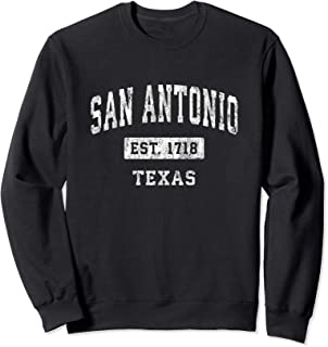 San Antonio Texas TX Vintage Established Sports Design Sweatshirt