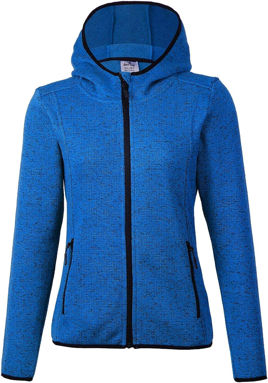 BELE ROY Womens Warm Winter Jacket Active Outdoor FullZip Coat Fleece Lined