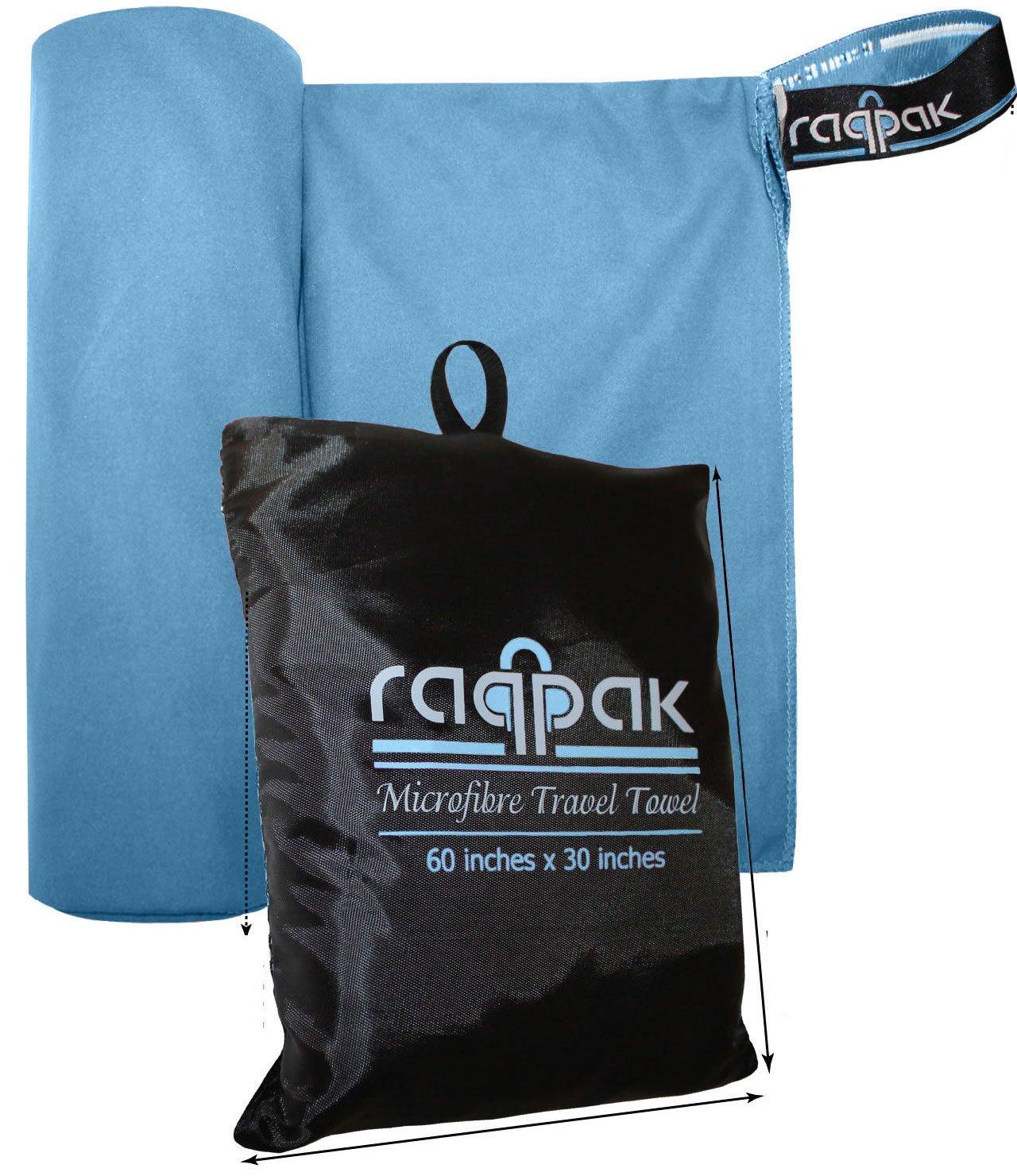 Care Plus® Travel Towel Microfibre groß Reisehandtuch 75 x 150cm