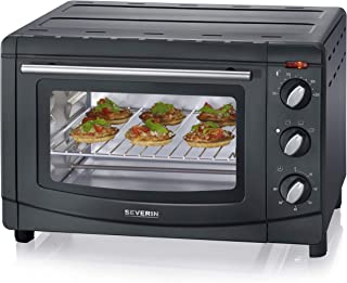 Severin TO 2067 - Horno y tostador, 1500 W, 20 L, color negro