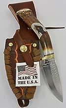 Ken Richardson Knife Antler Carved Bear Made In USA 4