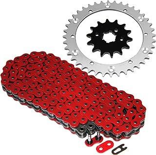 Caltric Red O-Ring Drive Chain & Sprockets Kit Fits YAMAHA BANSHEE 350 YFZ350 YFZ-350 1989-2006