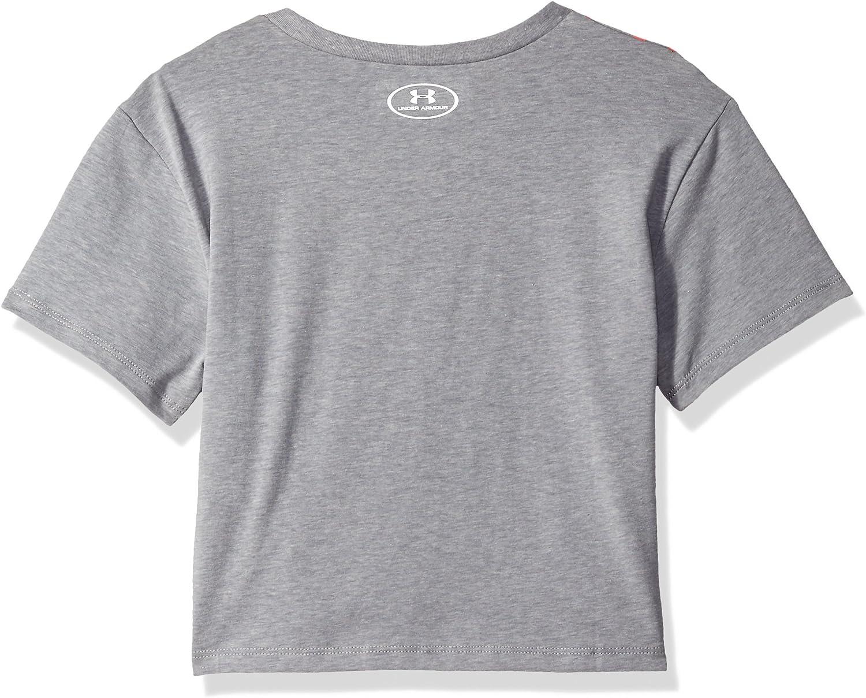 Under Armour Girls Transit Logo Short Sleeve Tee
