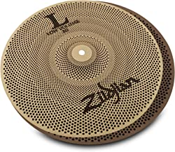 "Zildjian 14"" L80 Low Volume Hi Hats – Pair"