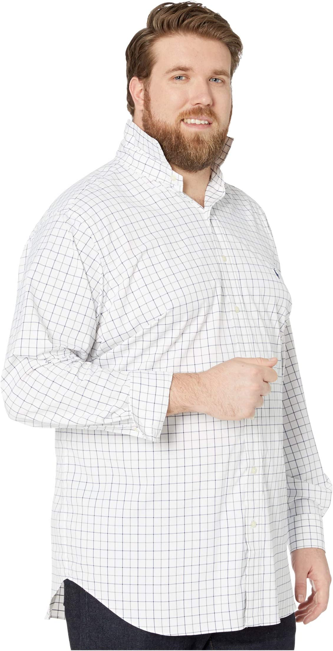 Polo Ralph Lauren Big & Tall Long Sleeve Long Sleeve Performance Woven 7RZjo