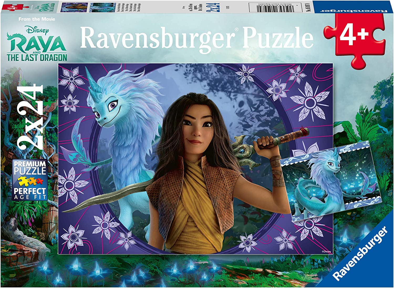 Ravensburger Disney Raya and The Last 24 Dragon x Dealing full price reduction Piece Department store Puzzle 2