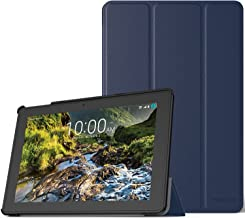 MoKo Ellipsis 10 HD Case 2017 Release - Ultra Lightweight Smart Slim Shell Stand Cover with Auto Sleep / Wake Function for 10-Inch Verizon Ellipsis 10 HD (QTAXIA1) Tablet, INDIGO