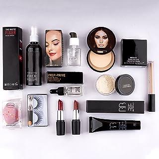 AP Home Decor Makeup kit combo pack of 11, Essential Oil, Face Primer, foundation, Concealer, Loose Powder, Blender, Makeu...