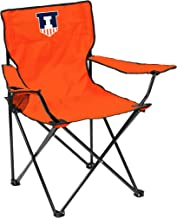 NCAA Illinois Illini Quad Chair, Adult, Orange