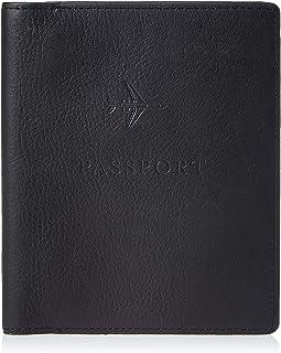 Fossil Men's Passport Case - Black
